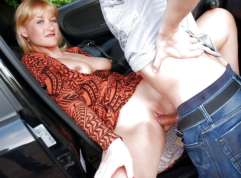 Young Horny Milf Needs A Quicky In The Parking Lot