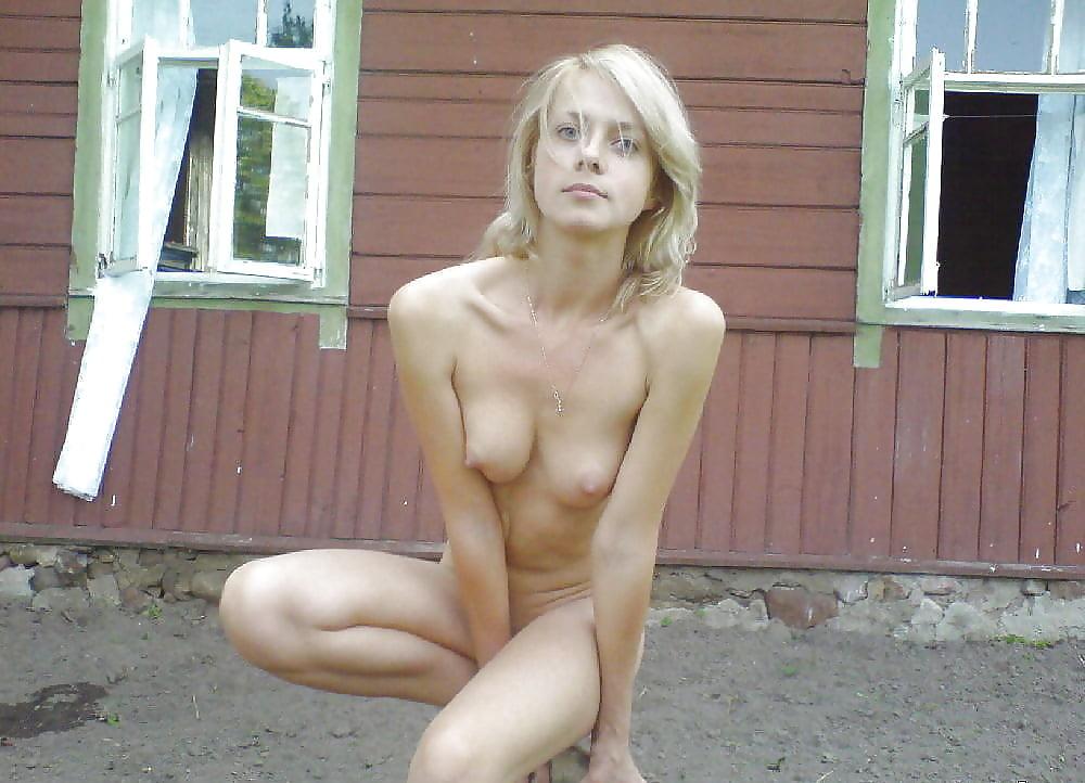 Частное деревенское ню фото