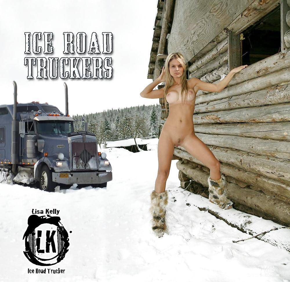Nude Lady Truckers In Australia