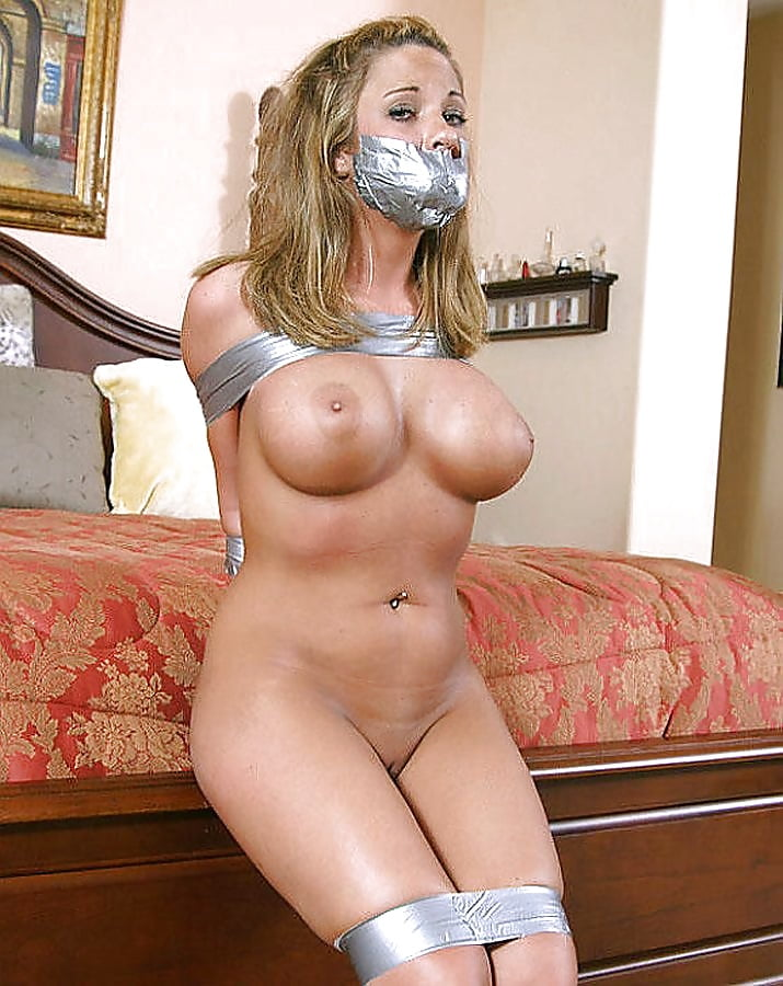 I let him humiliate me tied up and gagged with my big tits out terra mizu