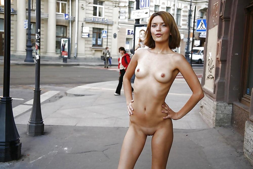 Girls naked fucking in public