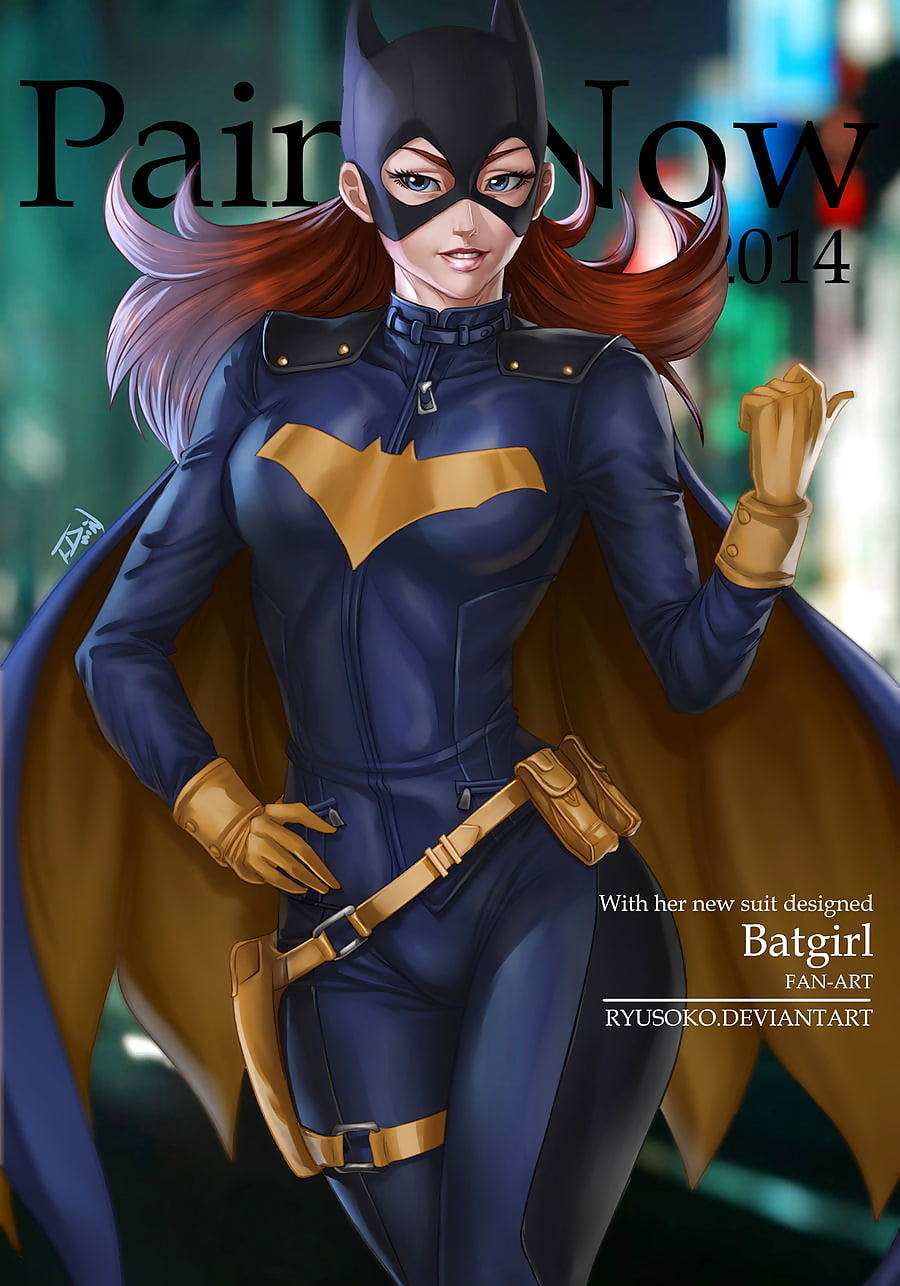 Interracial batgirl