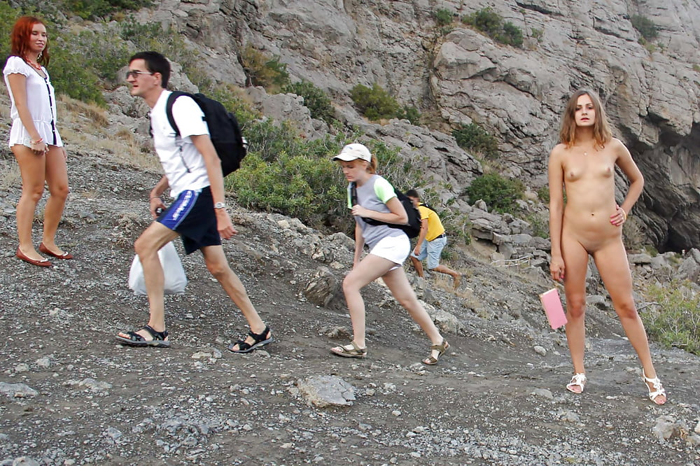 Women Pose Topless On Public Hiking Trails In Growing Trend