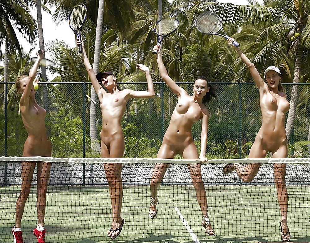 Nudist sport girl video black
