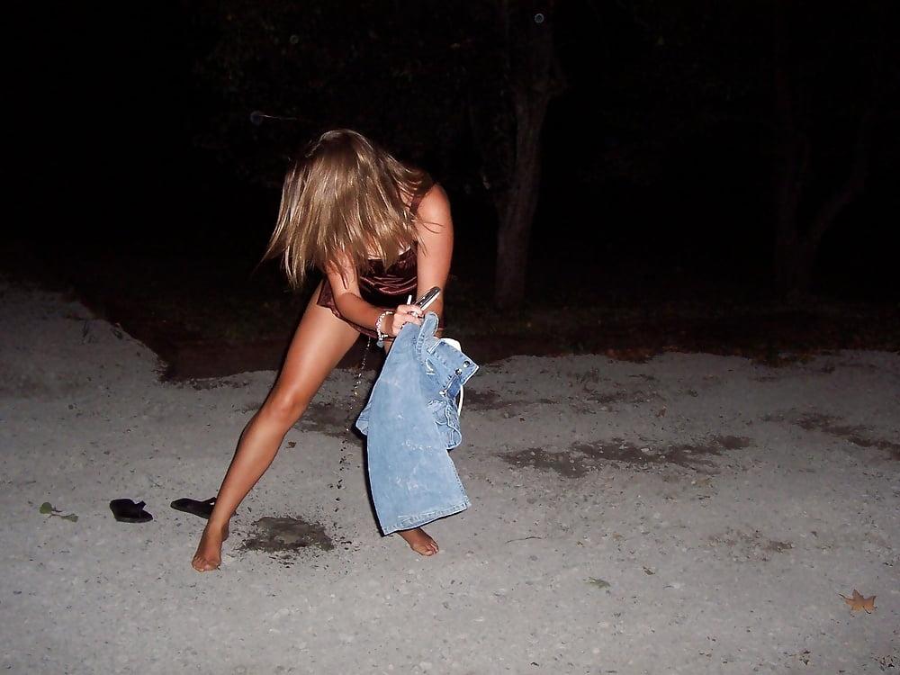 Drunk Teens Peeing Larger
