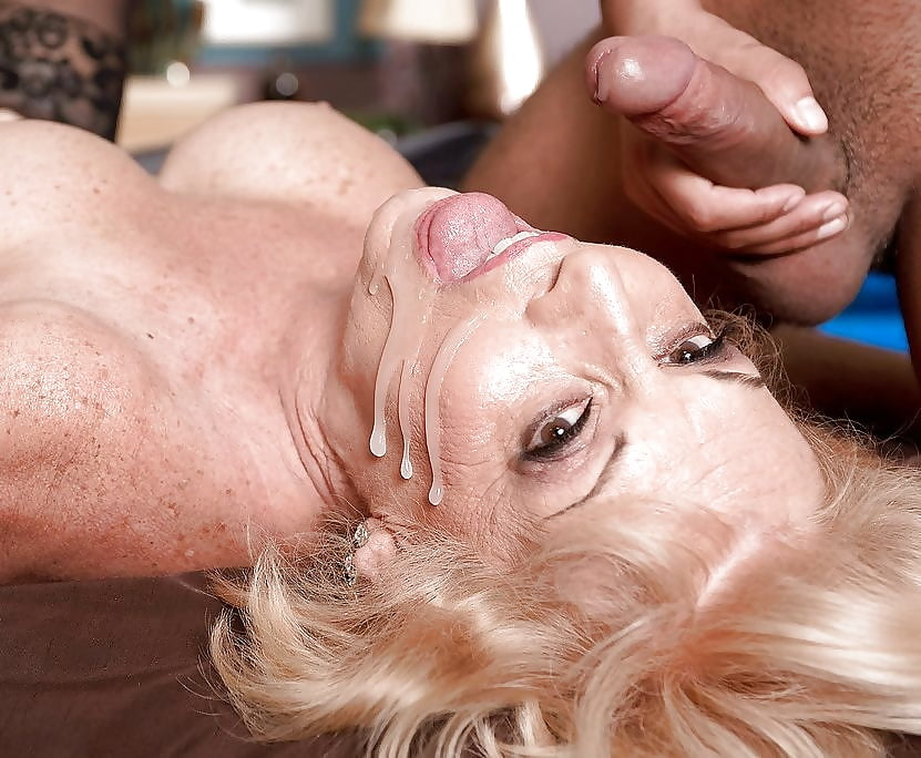 Mature Milfs Face Spunked
