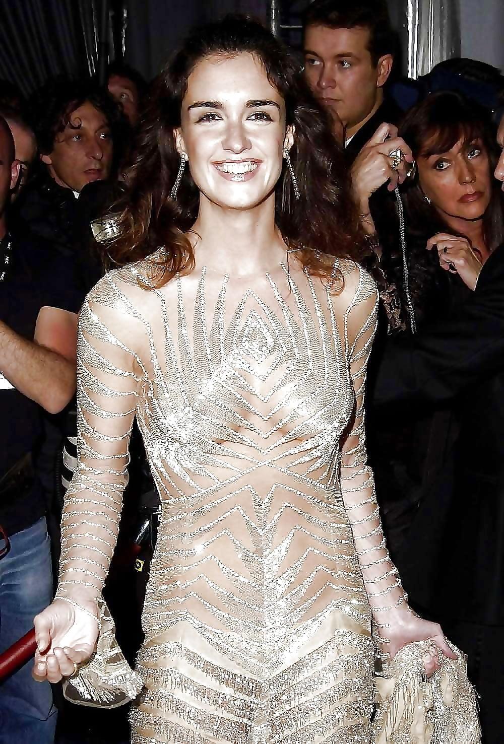 Просвечивающие порно платья знаменитостей фото 2