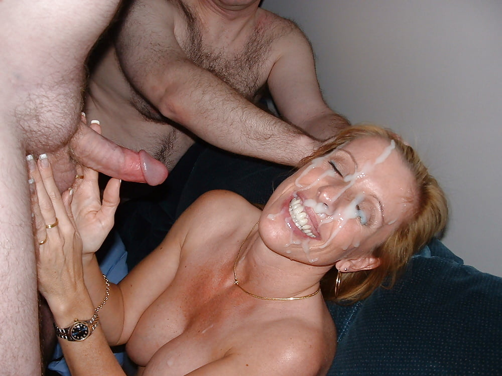 My boss cums on my wifes face free porn images
