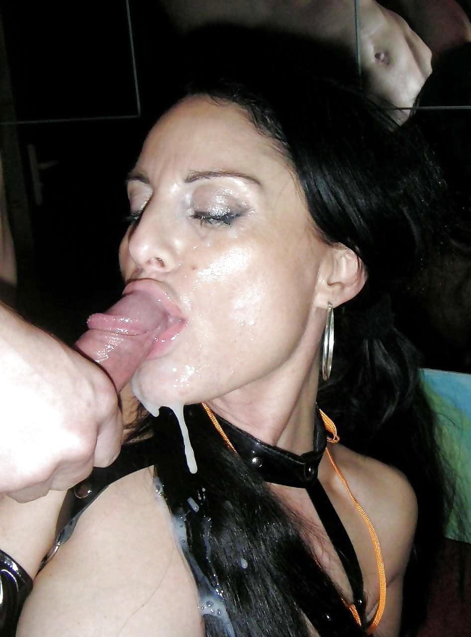 Порно картинки проститутки в сперме #12