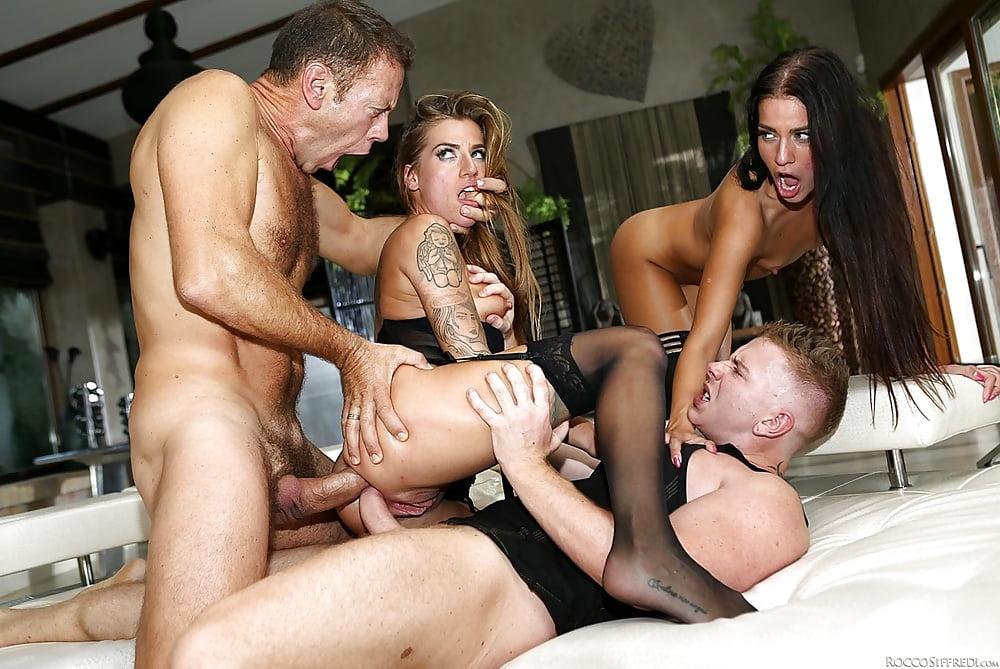 Mom anal orgy