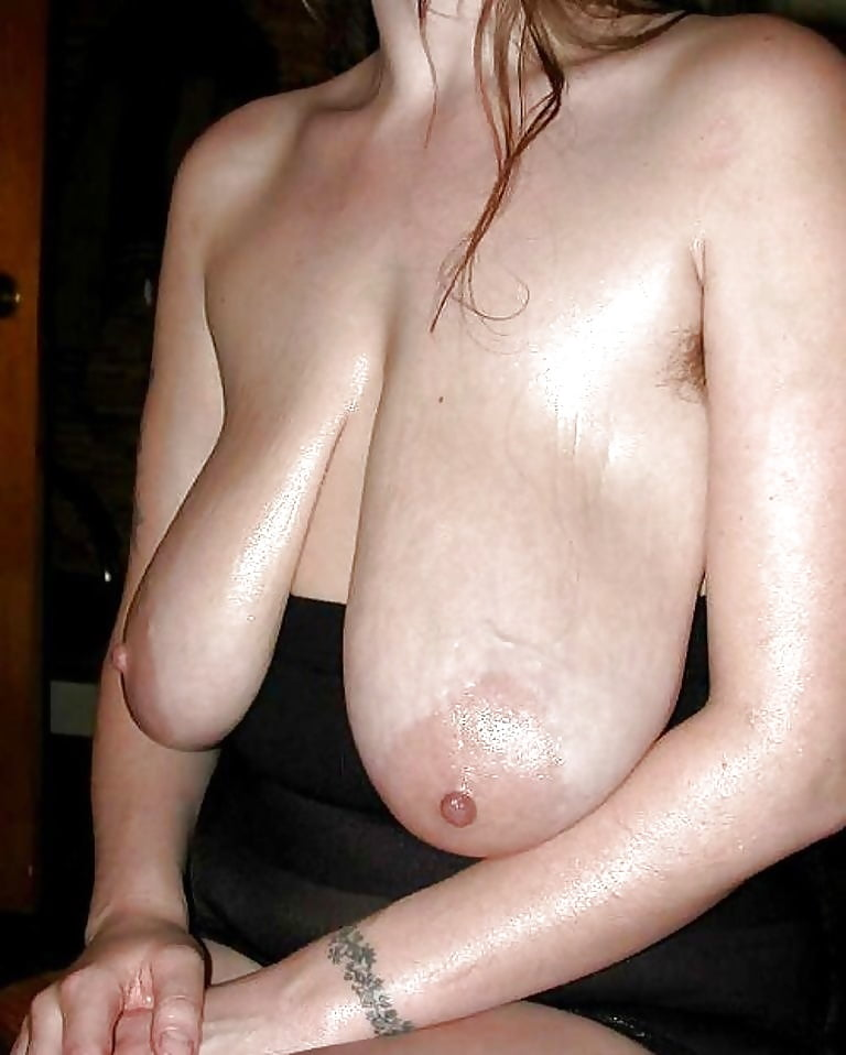 Unusual long saggy tits