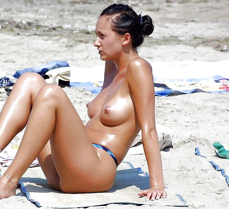Brune On Beach
