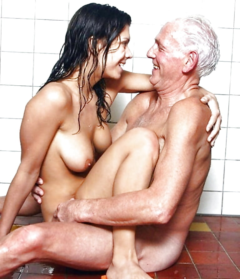 Old man or woman very painful sex