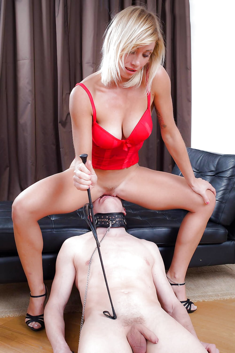 Blindfolded Slave Wife Fingered And Clit Licked