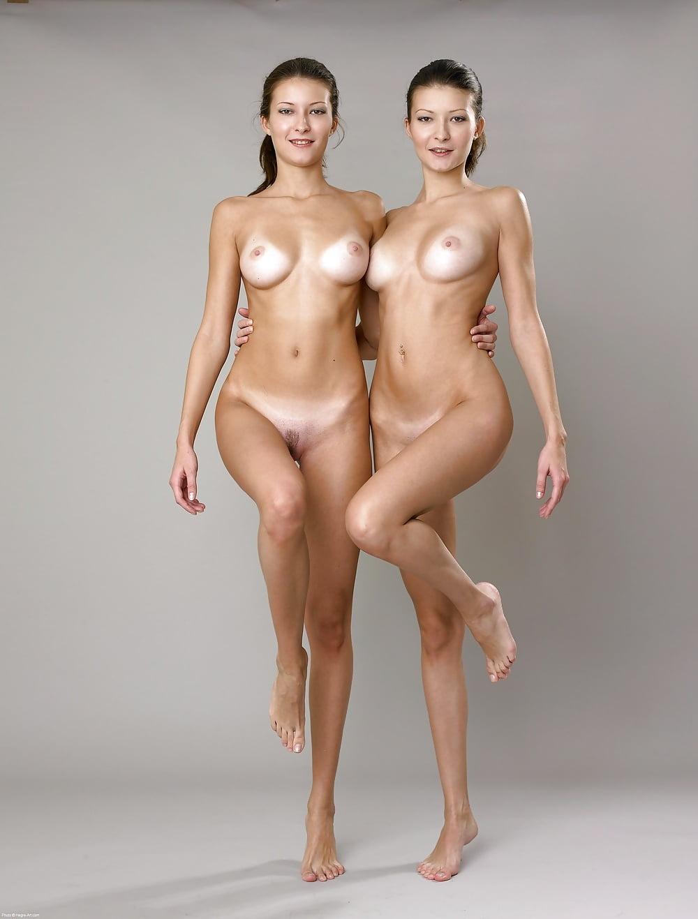 Masturbating Identical Twin Sisters Nude