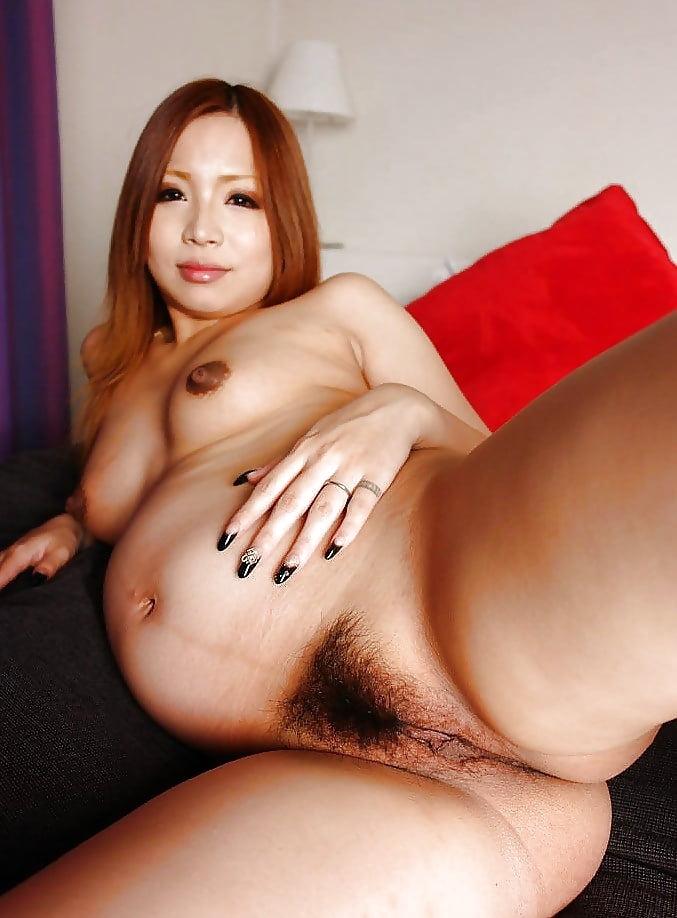 Pregnant woman sex asian