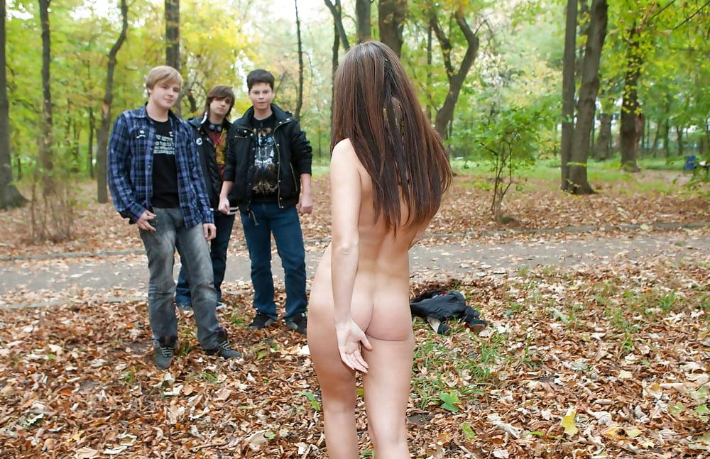 член, порно разделись в парке всего попробовал