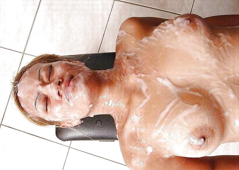 Body Bukkake On Her Body Nude Photos