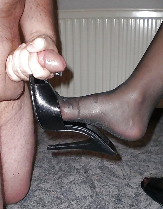 Anna nylons and shoes