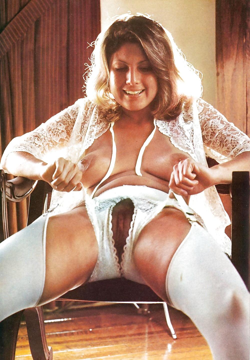 Vintage sexy mature panties skin
