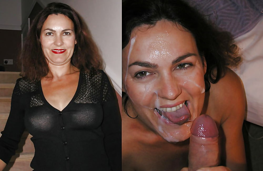 Wife Smiles After Getting Cum All Over Her Face And Body