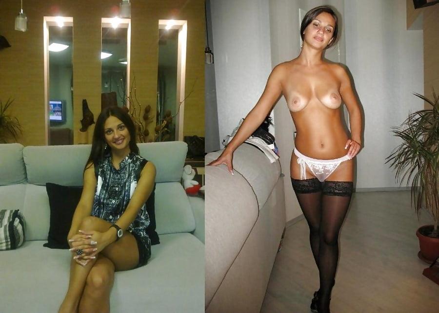Частное жена одевается, сидя на стуле секс фото