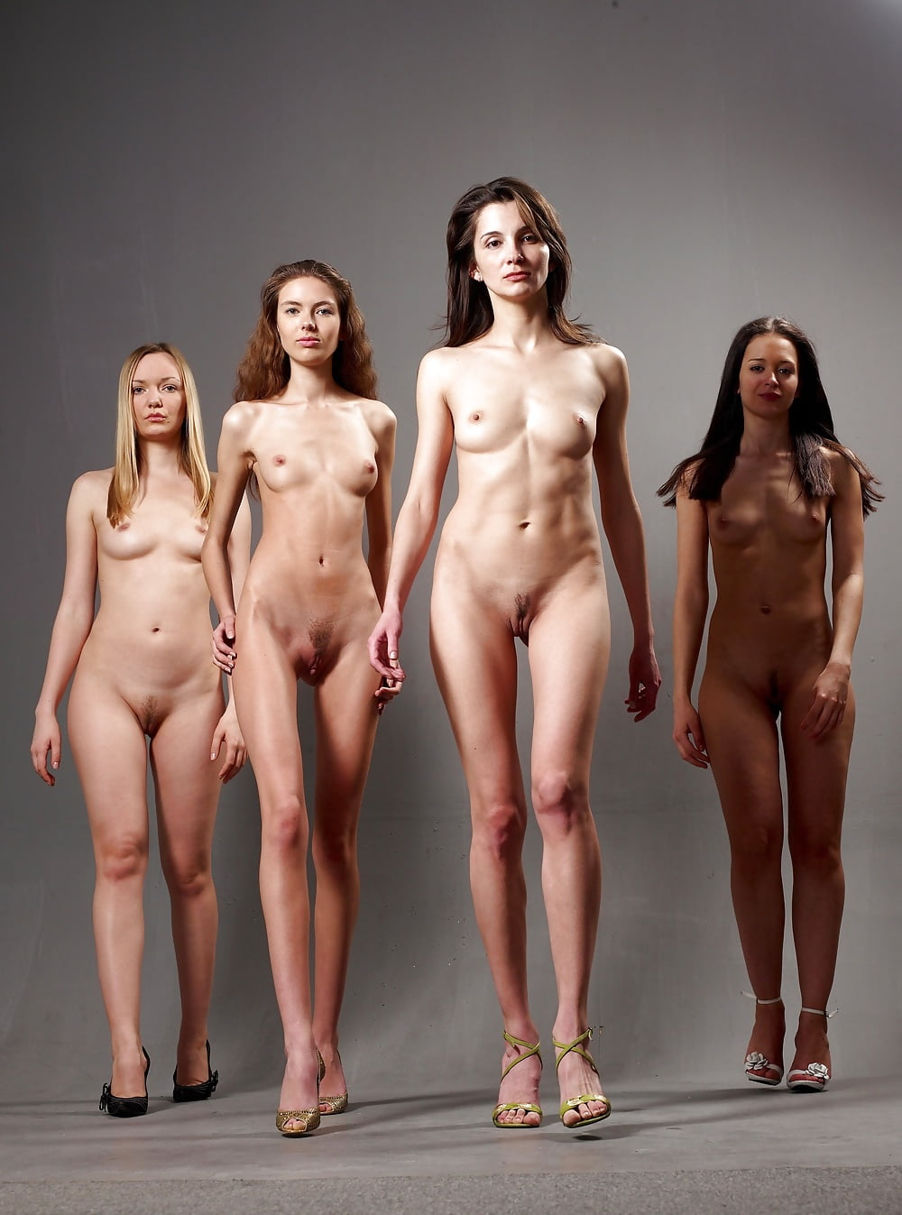 Very tall girl nude skinny woman