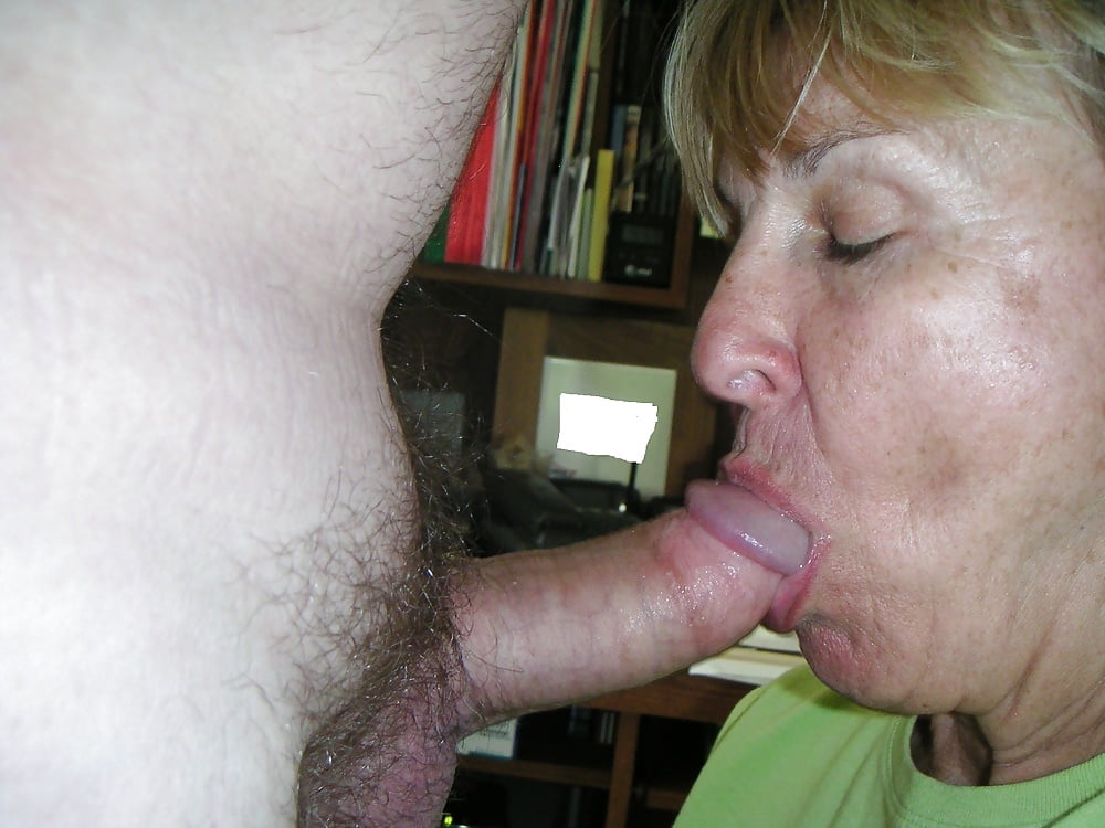Hot Moaning Granny Sucking Cock Before Hard Anal Fucking