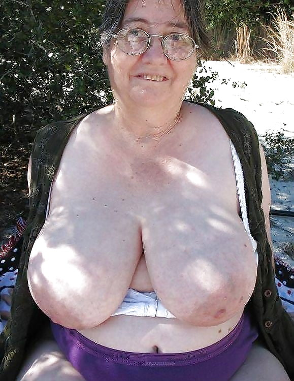 Oh grandma, what great big tits you have