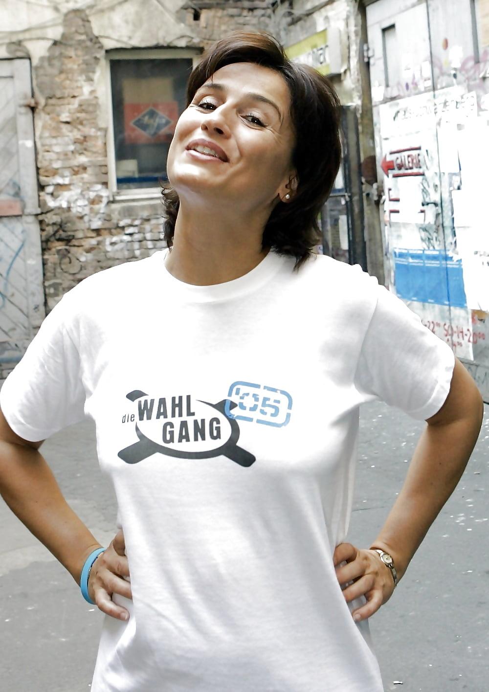 nackt Maischberger Sandra Celebrity Fakes