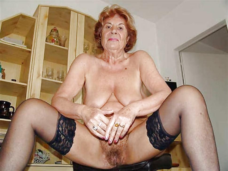 Elderly style granny image photo