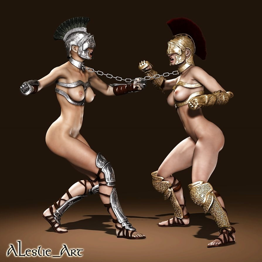 Sexy Gladiator Girls Nude