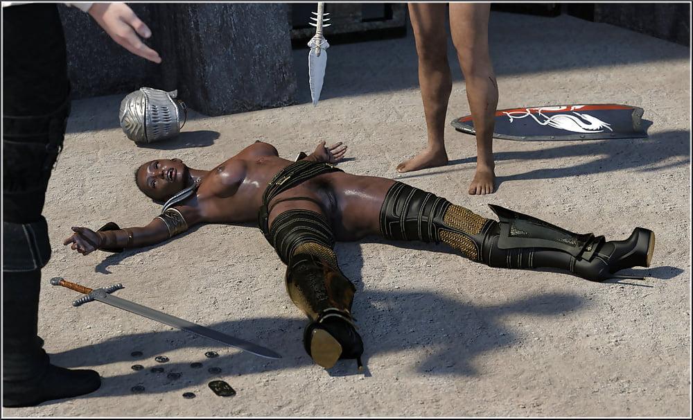 American Gladiator Girls Nude
