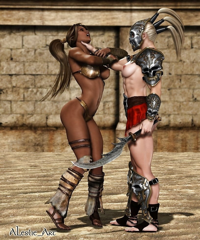 Sexy girl gladiator pussy hate