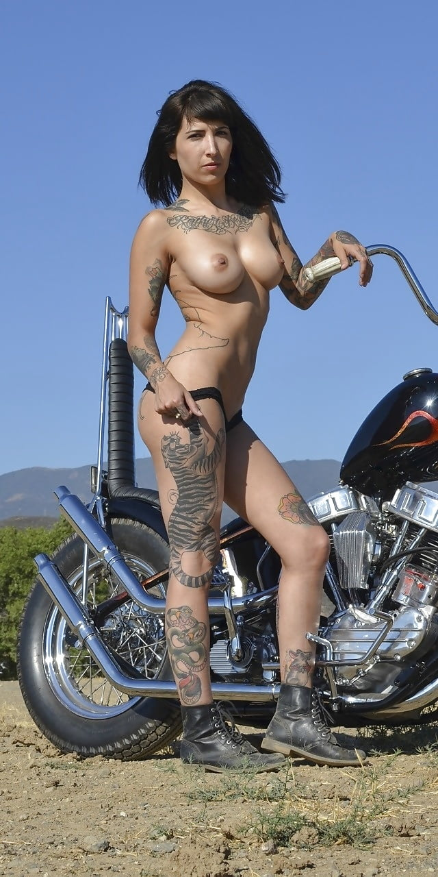 Girl On Bike Naked