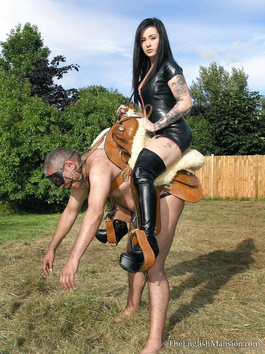 Femdom cowgirl ride