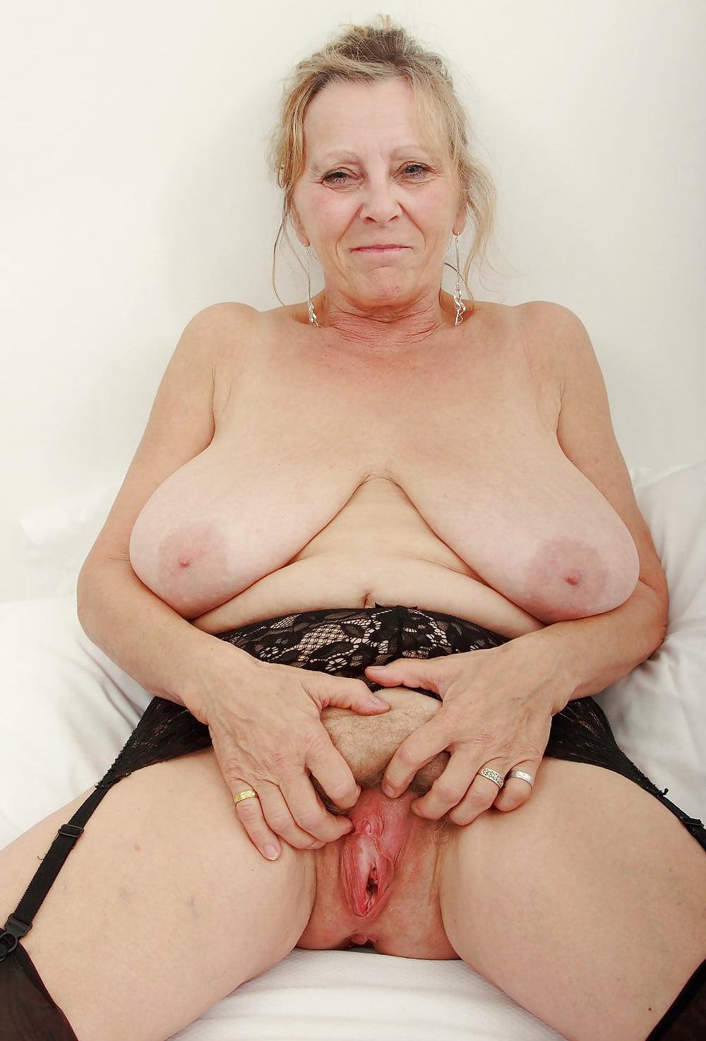Older Women Most Saggy Tits Bush