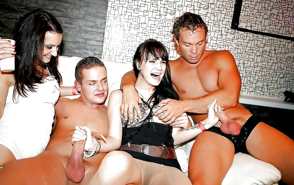 For hand job at party hard passed