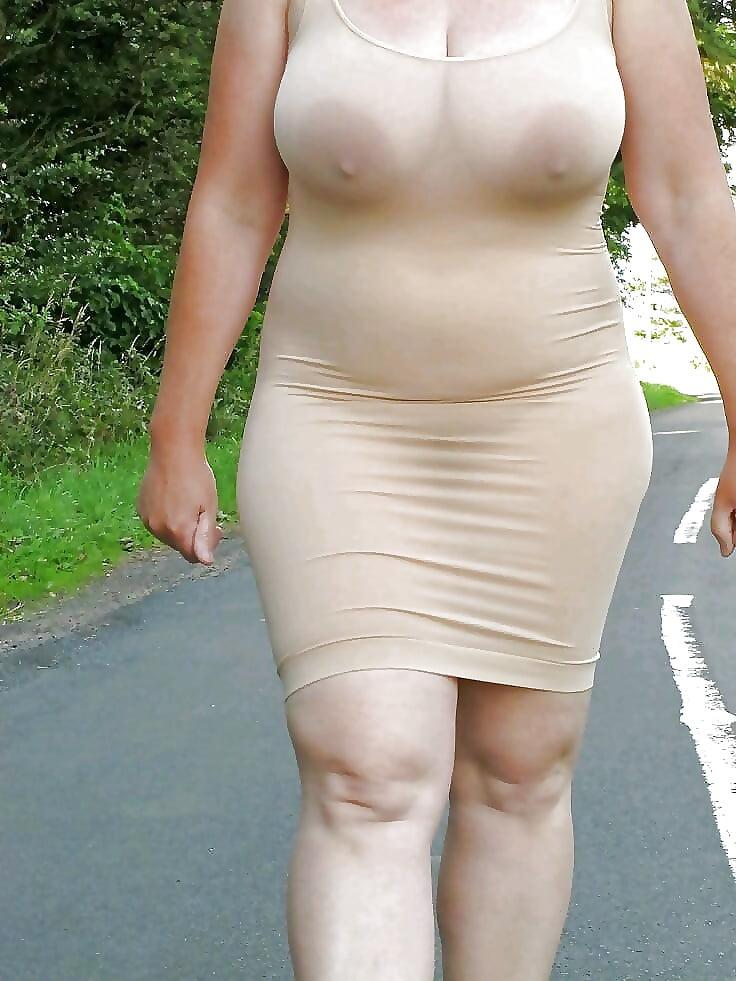 Bbw прозрачное платье порно