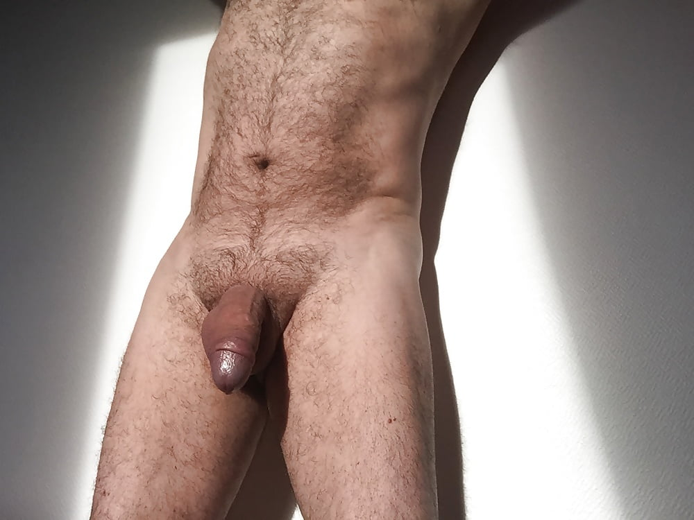 Guy with his big cock hanging out