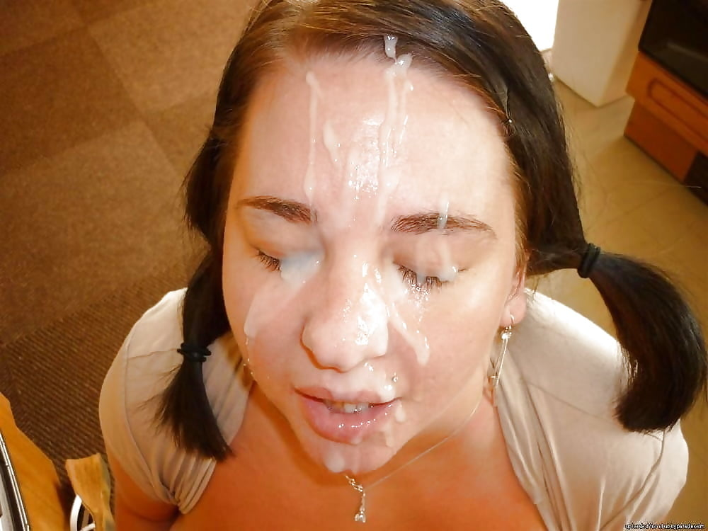 Pretty Teens Love Cum Facial
