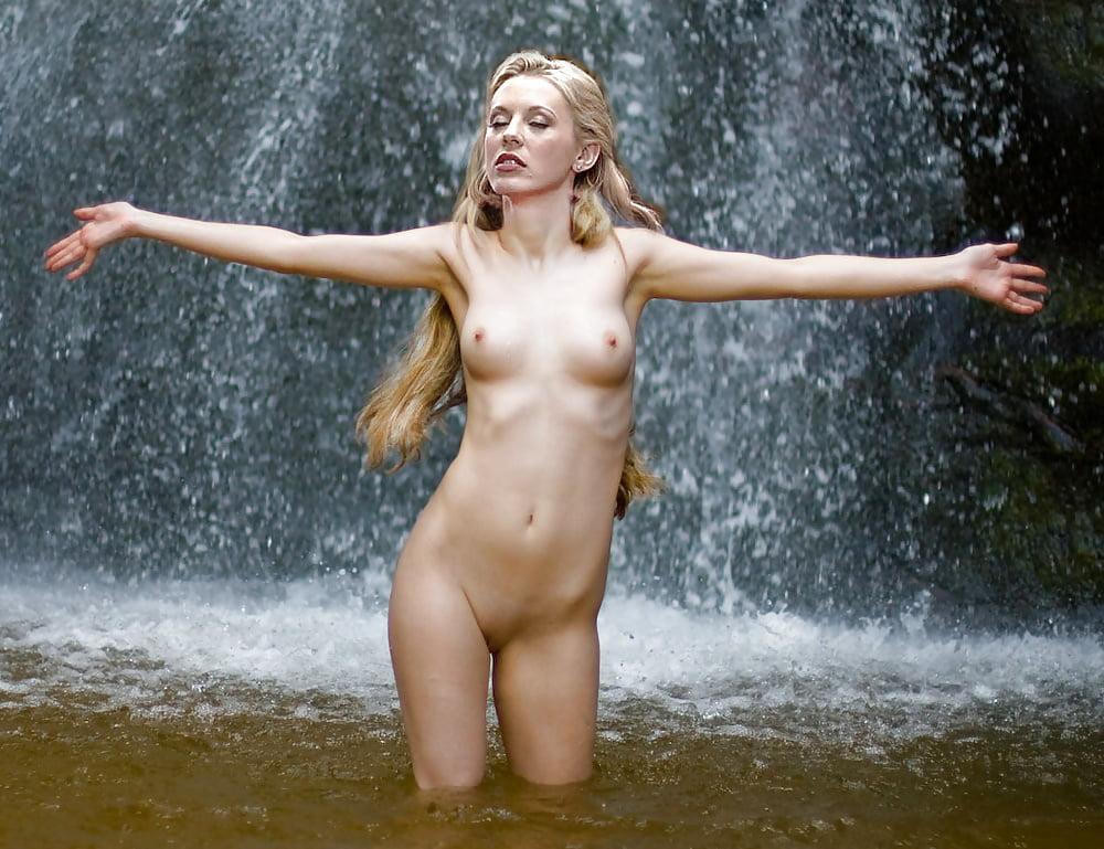 Blonde beauty adelia nude