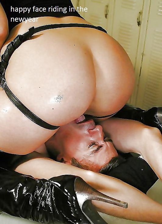 Busty Mistress Ass Licking