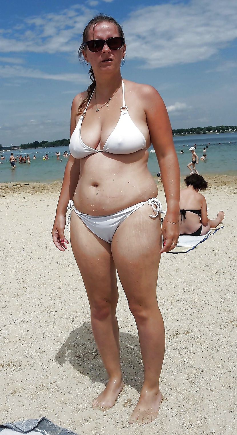 Fat mature woman in bikini, alvina xxx
