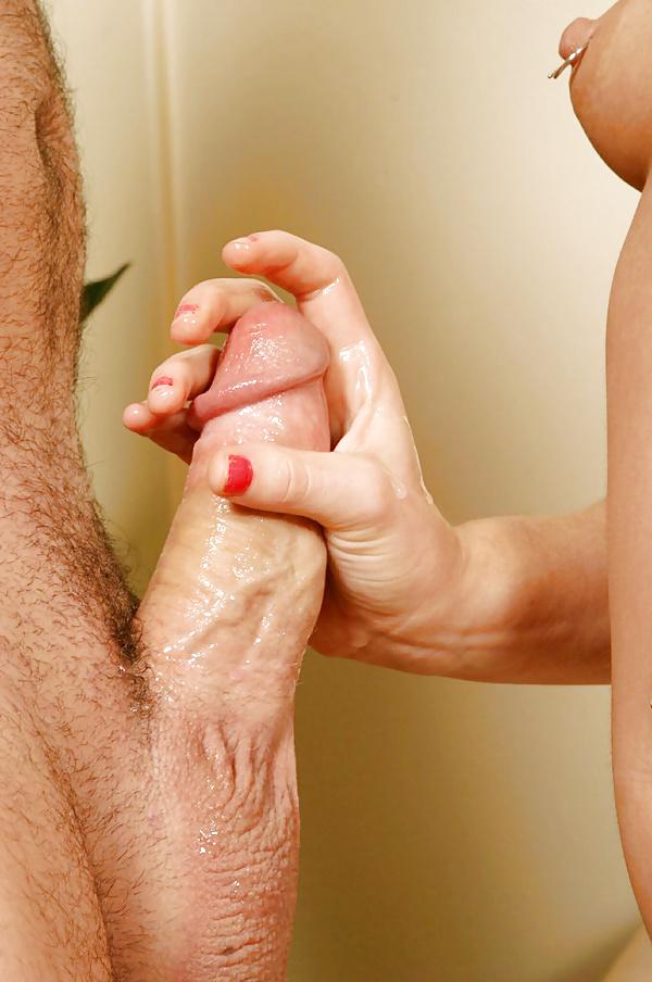 ублажение члена руками - 3