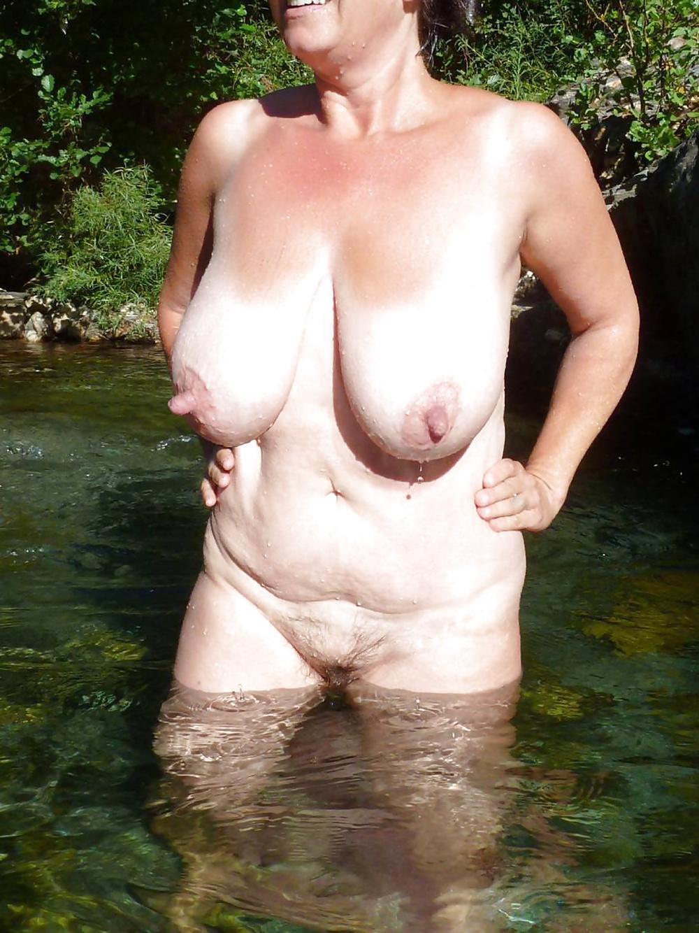 Pierced Nipples Granny