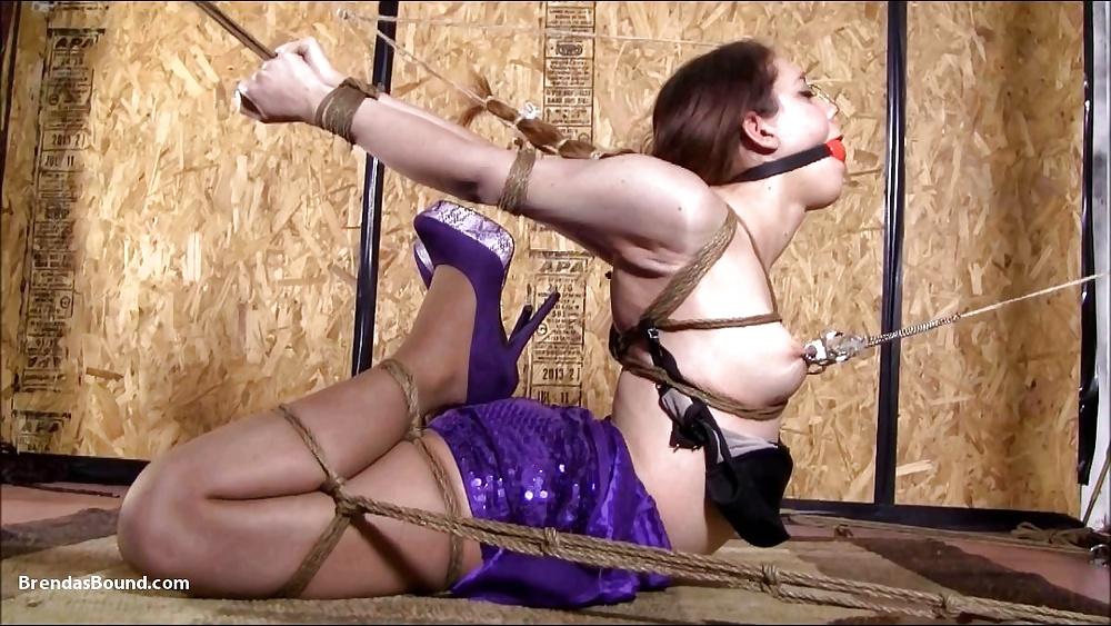 Eaglespread femdom rope, womenin nude