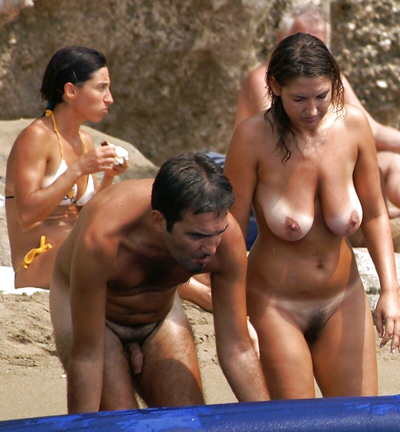 Indian couple nude beach pic — photo 15