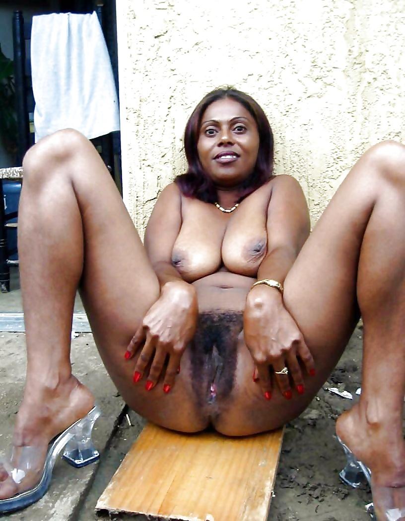 Black african mom hairy mzansi