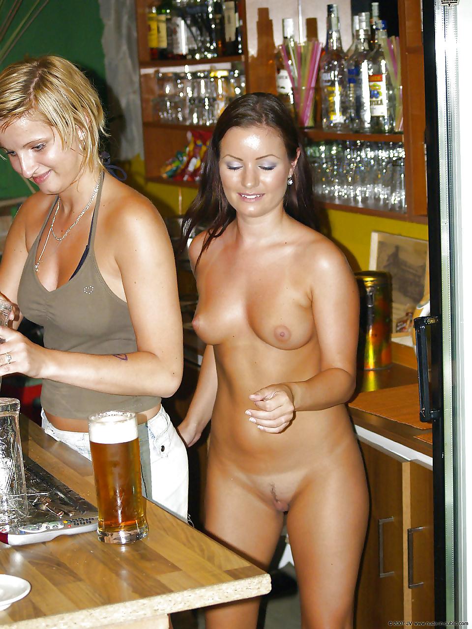 Hot nude bar milf naked